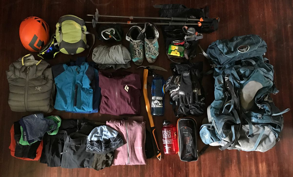 The time when my gear is the most organized is before the trip. After everything's in my backpack, all bets are off. (Vicky Ho / Alaska Dispatch News)
