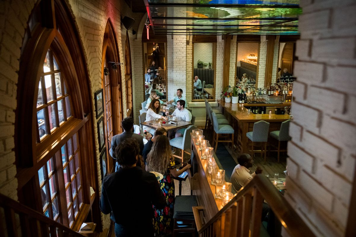 Tempest restaurant in Charleston, S.C., on June 3. (Cameron Pollack / For The Washington Post)