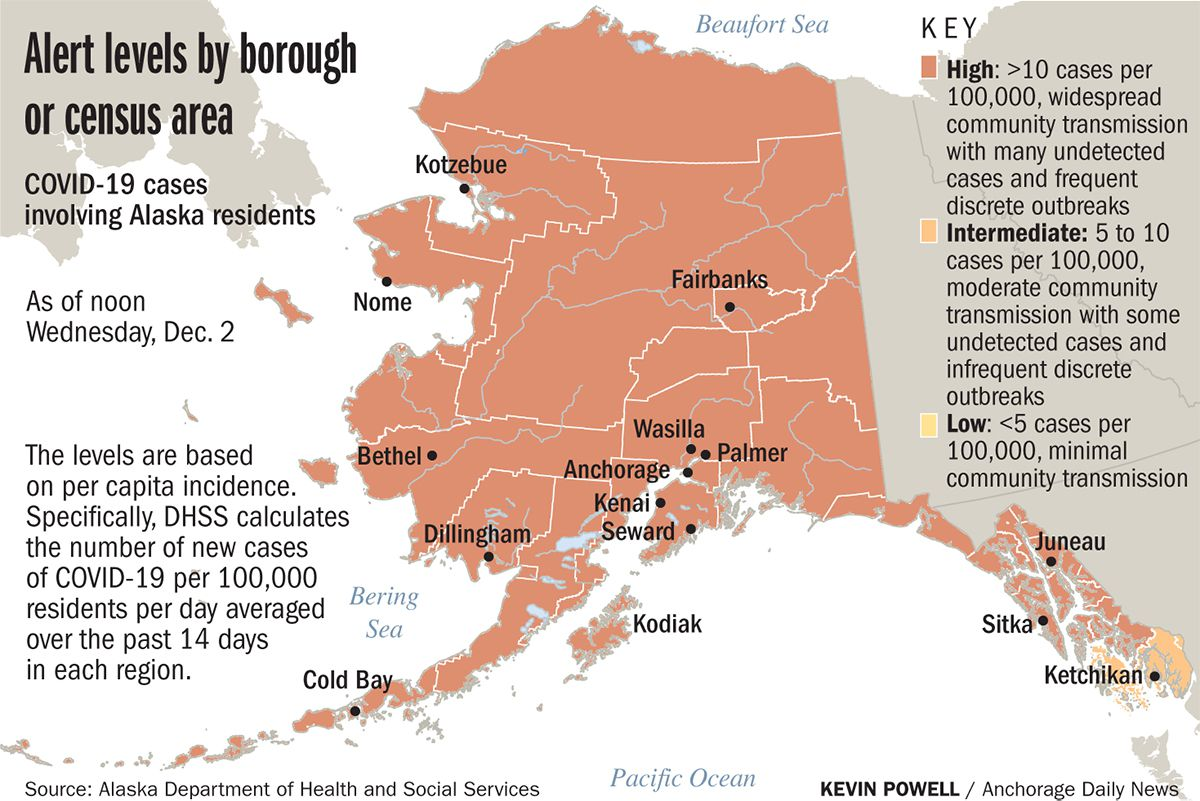 Tracking COVID-19 in Alaska: 8 deaths and record 760 new cases reported Thursday -