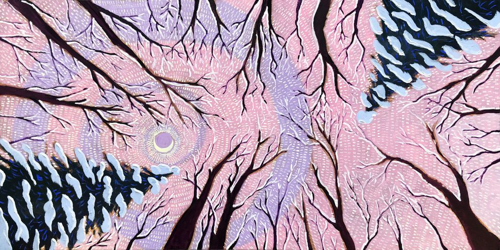 'Winter ' by Scott Clendaniel. Oil painting. (Scott Clendaniel/RealArtIsBetter)