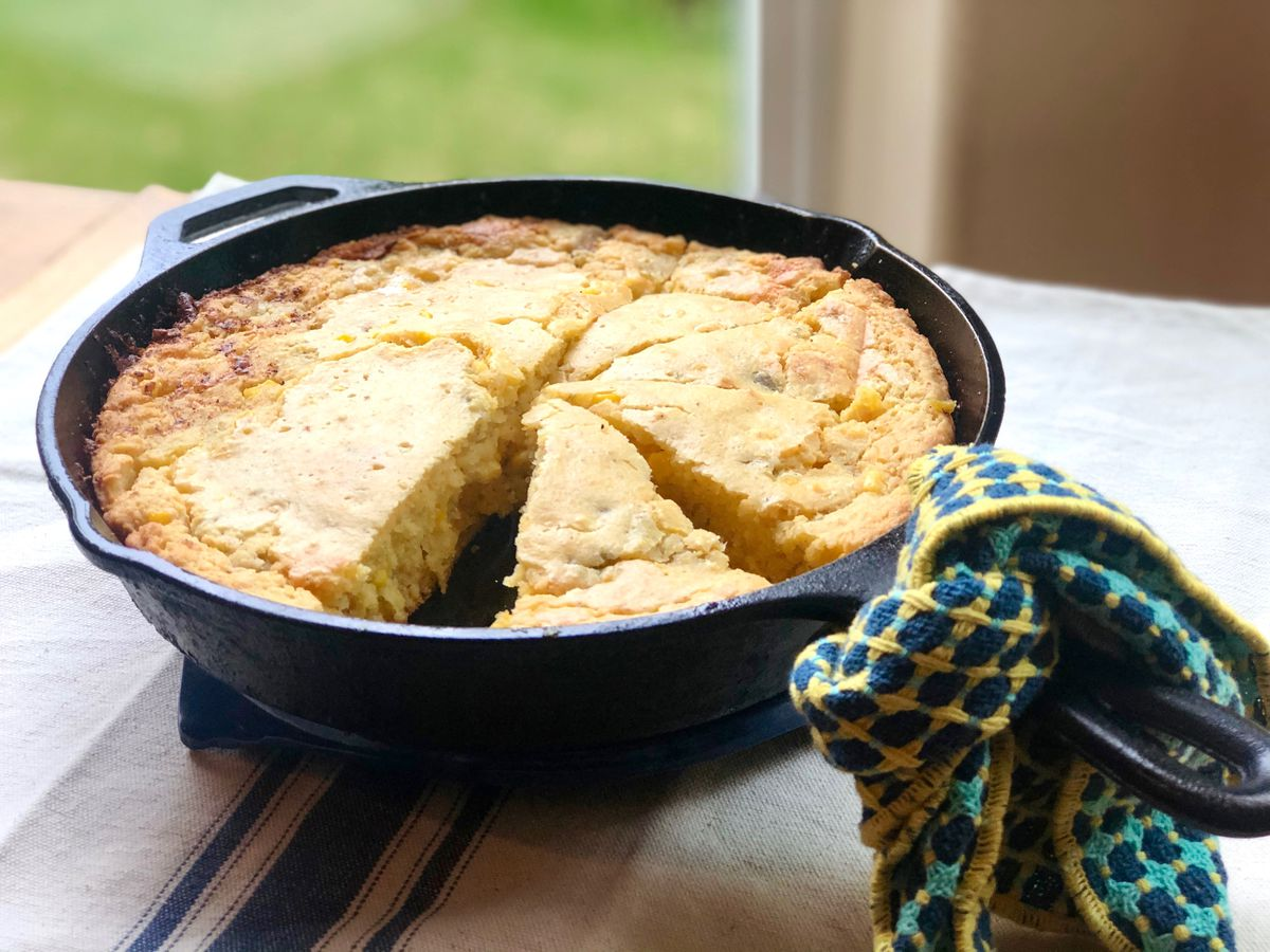 Brown butter cornbread (Photo by Kim Sunée)