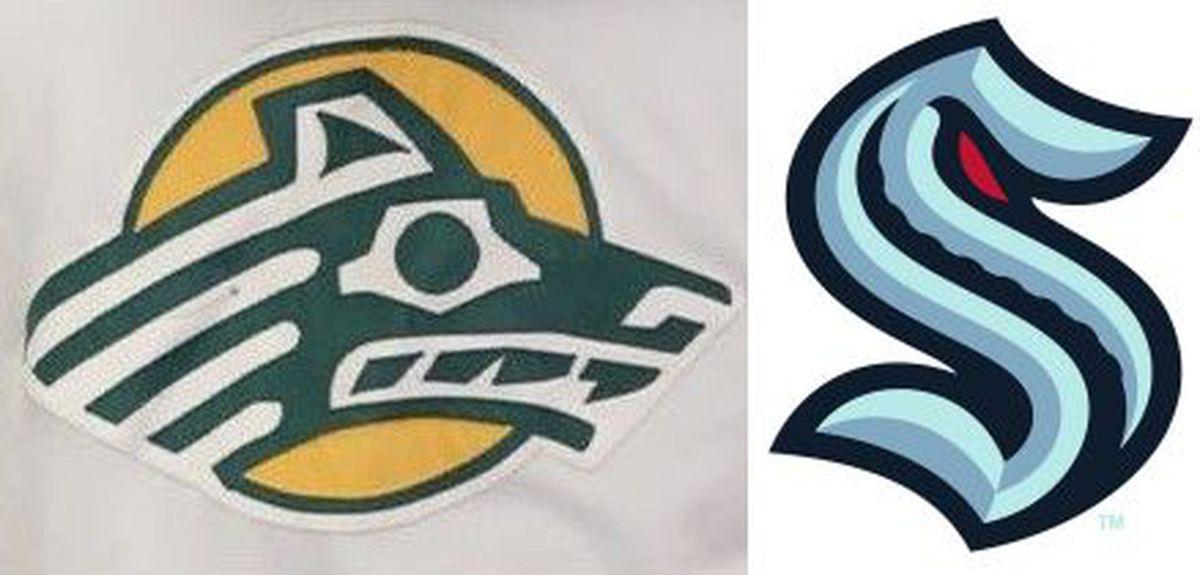 UAA and Seattle Kraken logos