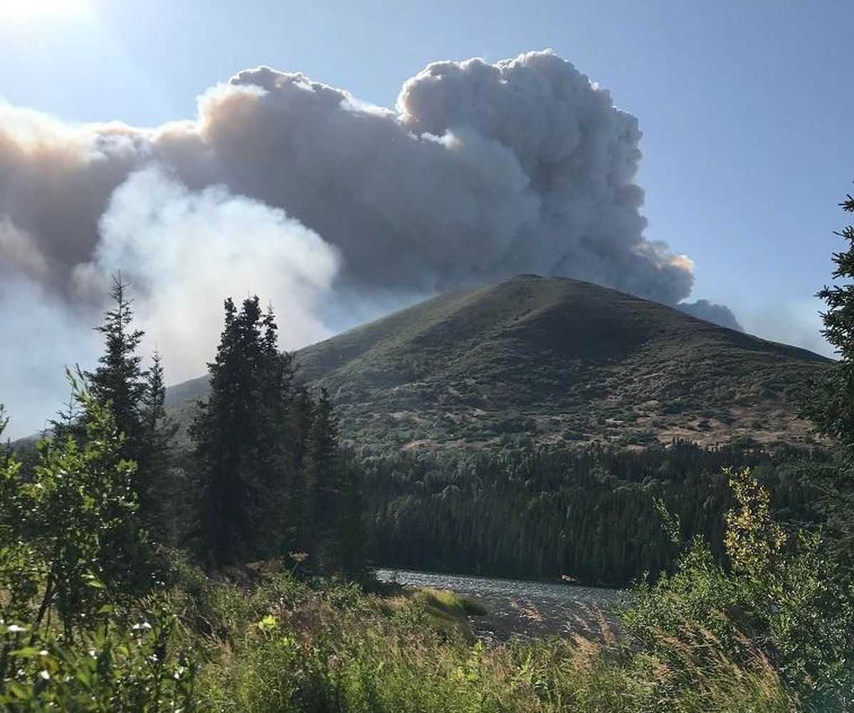 Sterling Highway reopened after closure from Swan Lake fire
