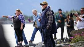 'I just cried. That was the first one I'd ever seen': Belugas thrill whale watchers along Turnagain Arm