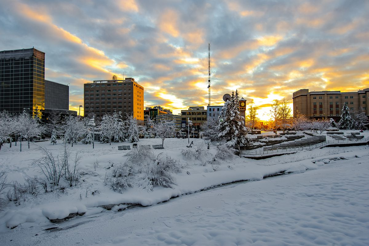 Downtown Fairbanks. (iStock / Getty Images)