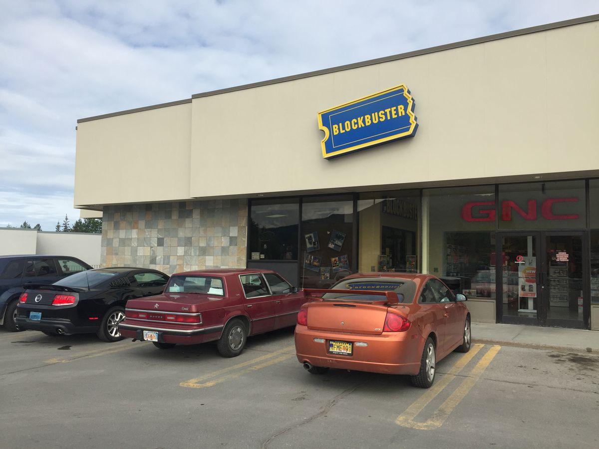 The Eagle River Blockbuster Store Erik Hill Alaska Dispatch News