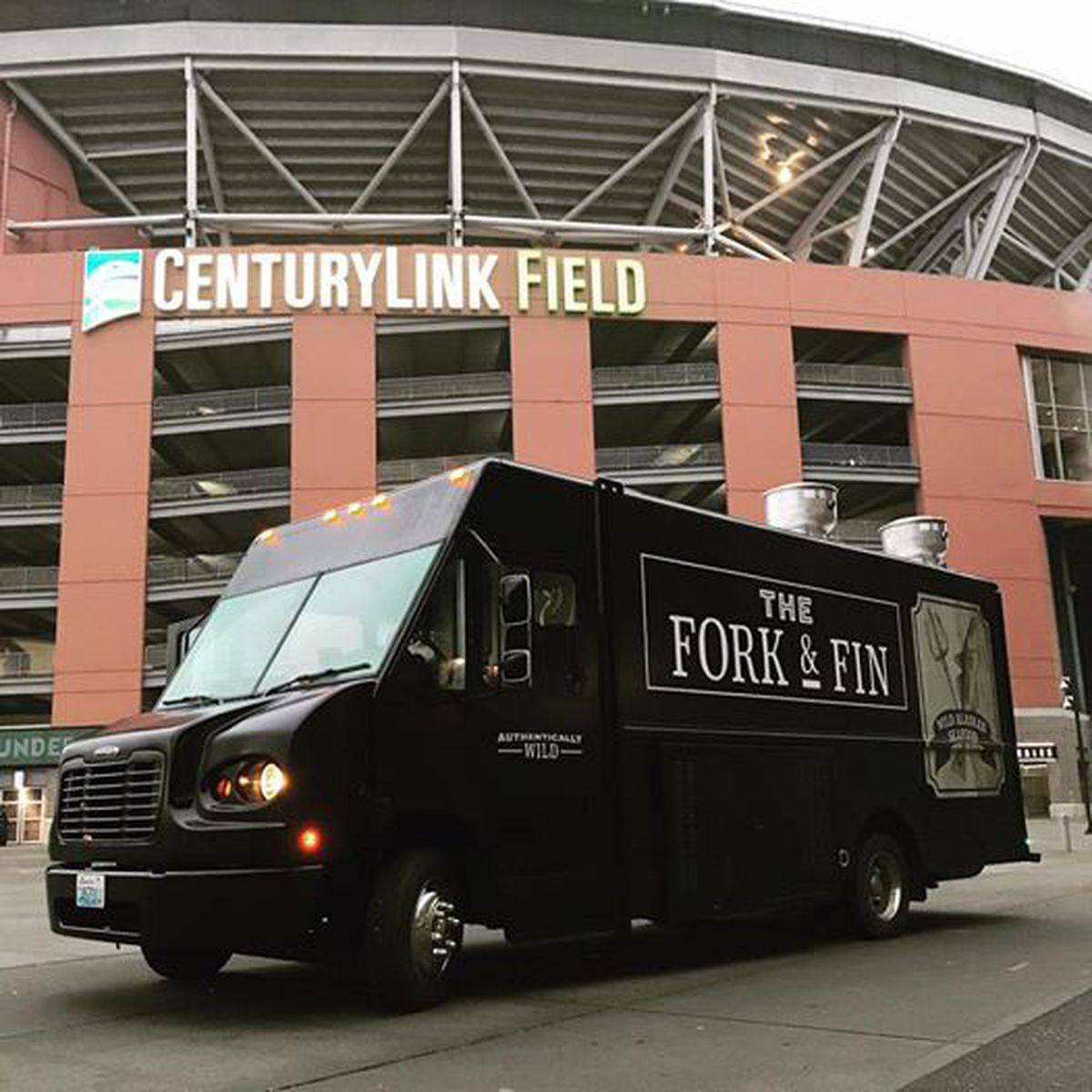 The Fork & Fin food truck, presented by Trident Seafoods, highlights dishes made with Alaska pollock. (Photo courtesy Fork & Fin Facebook page via Trident Seafoods)