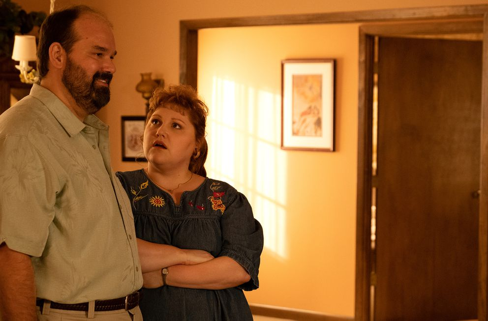 Mel Rodriguez and Beth Ditto have standout performances as Ernie and Bets in Showtime's new series. (Patti Perret, Showtime)