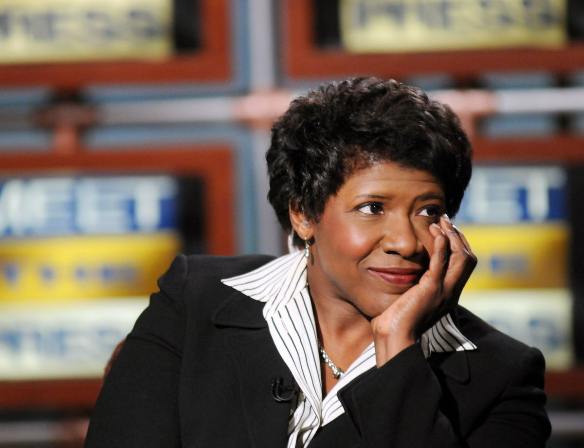 Gwen Ifill (Ali Goldstein/NBC Universal via The New York Times)