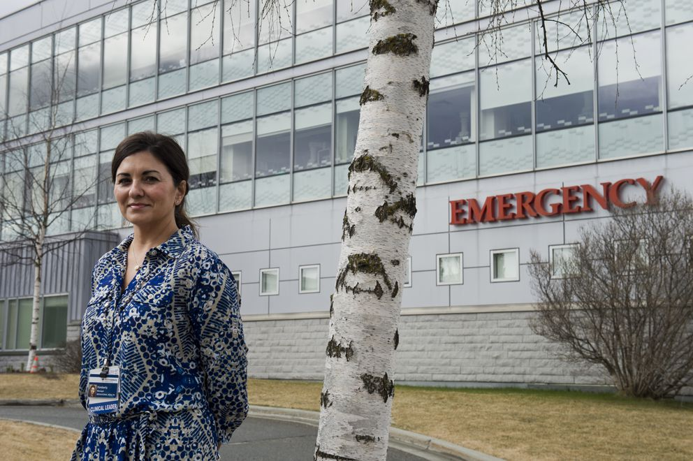 Kimberly Pettit is the manager of the psychiatric emergency department at Providence Alaska Medical Center. (Marc Lester / ADN)