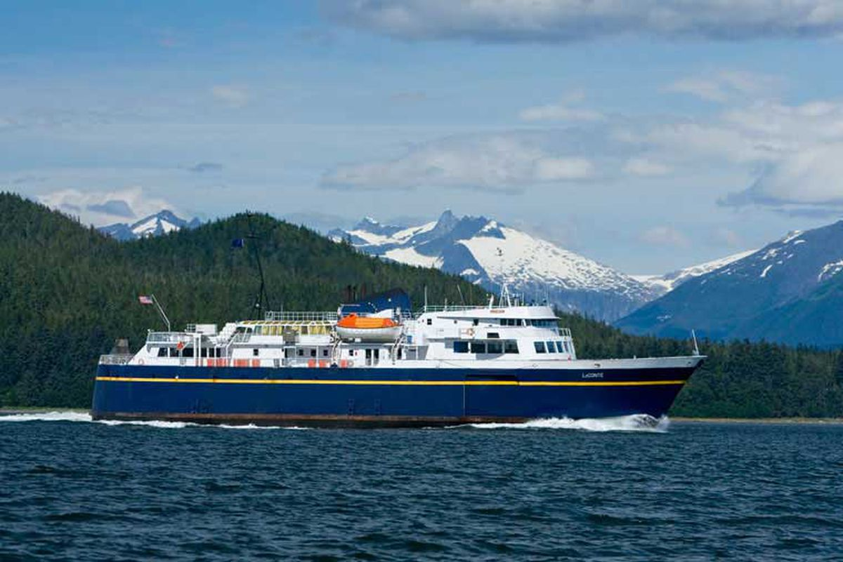 The Alaska Marine Highway System ferry LeConte. (Undated/AMHS/State of Alaska)