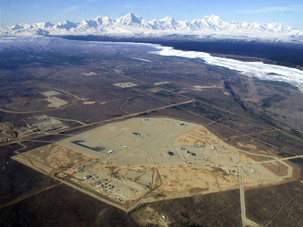 The FortGreely missile defense site in Alaska. (Boeing)