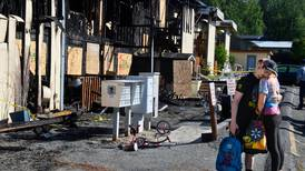 Man charged in deadly Eagle River apartment fire told investigators he did it 'to get him a new home'