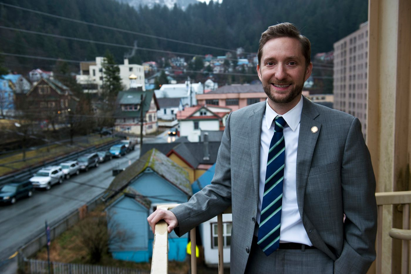 Rep. Jason Grenn, I-Anchorage. (Marc Lester / Alaska Dispatch News)