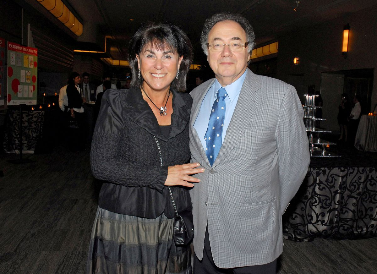 Honey and Barry Shermanin 2010. The Globe and Mail/Janice Pinto via REUTERS