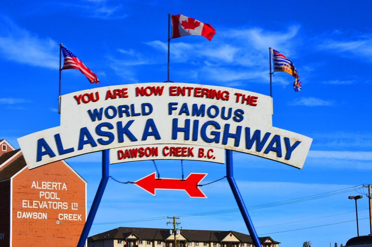 The World Famous Alaska Highway, Summer 2015. (Photo by Shannon Miller/Taylor Williams)