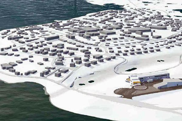 Architects working on the $142 million project, one of the largest ever built in the Canadian Arctic province of Nunavut, said they considered Inuit culture and philosophy in almost every aspect.