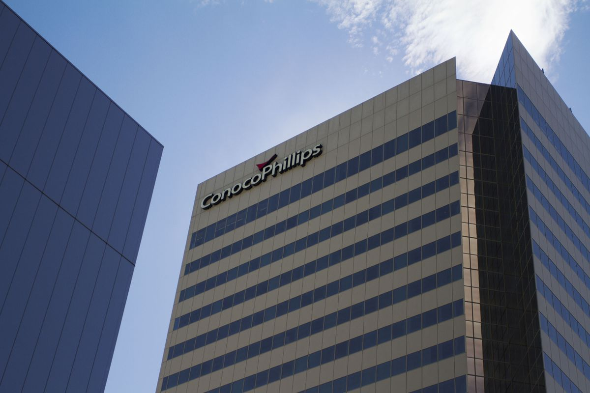 The ConocoPhillips building in downtown Anchorage. (ADN archive)
