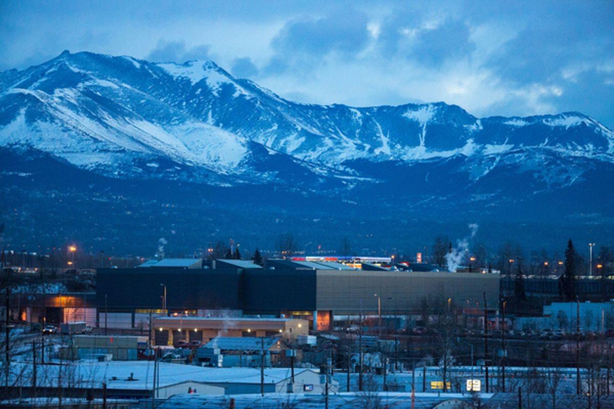 The Anchorage jail (Loren Holmes / ADN)