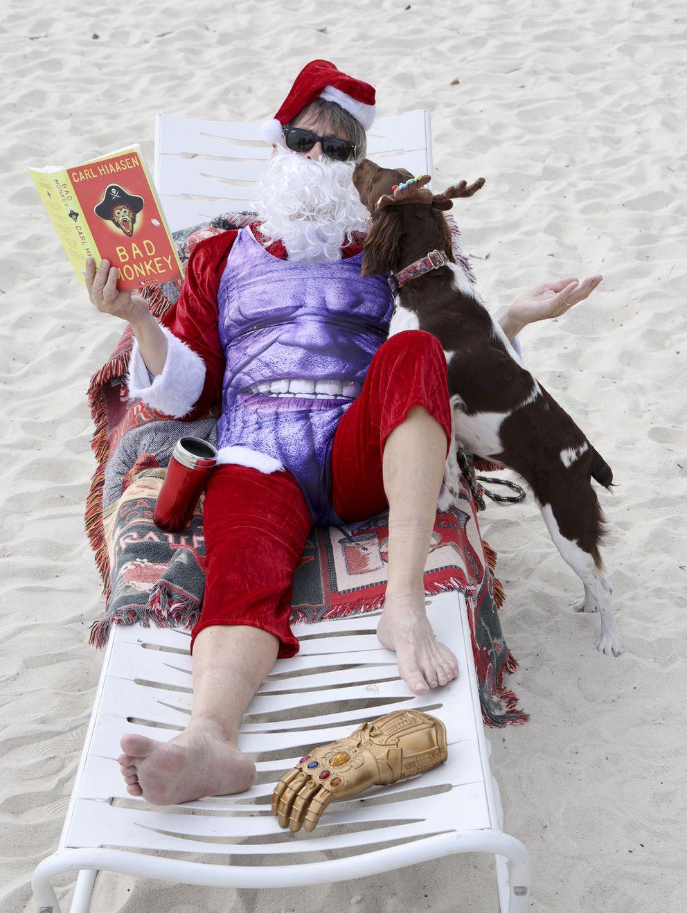 Thanos Swimsuit (Carle Juste/Miami Herald/TNS)