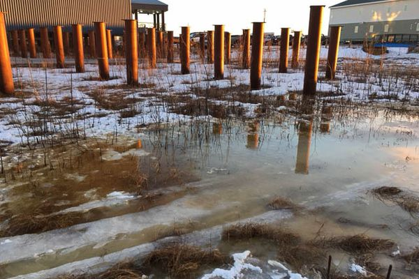 A spill of approximately 3,000 gallons of diesel was reported Jan. 9, 2018 at Yuut Elitnaurviat in Bethel. (Yuut Elitnaurviat/State of Alaska)