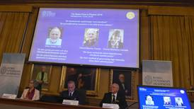 American, Frenchman, Canadian share Nobel physics prize for work with lasers