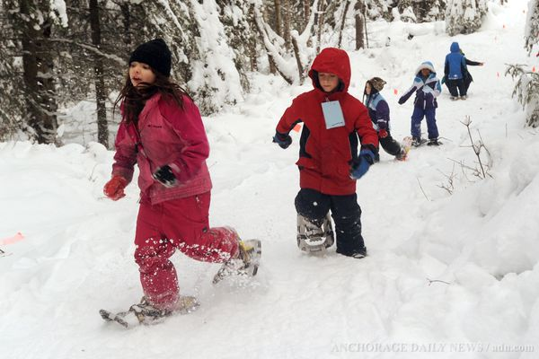 OPINION: Afterschool programs help youngsters learn, live and thrive for years down the road. Pictured: Youngsters learn to snowshoe during a Camp Fire program.