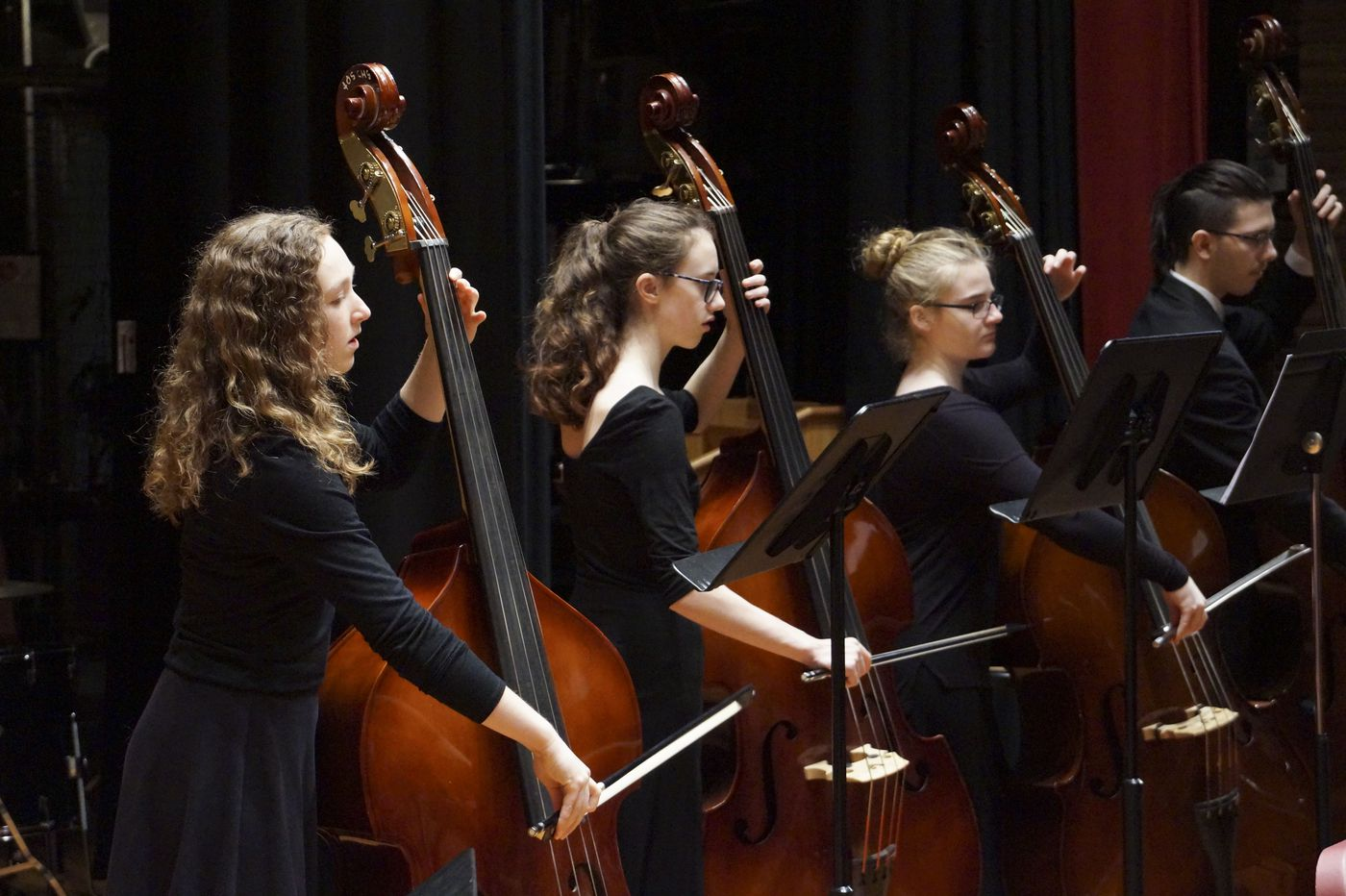 High school band students perform at the All-State Music Festival. (ASAA)