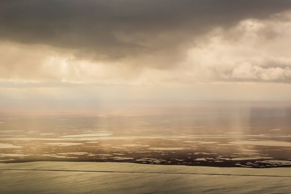 The Arctic National Wildlife Refuge's coastal plain in summer. (Loren Holmes / ADN)