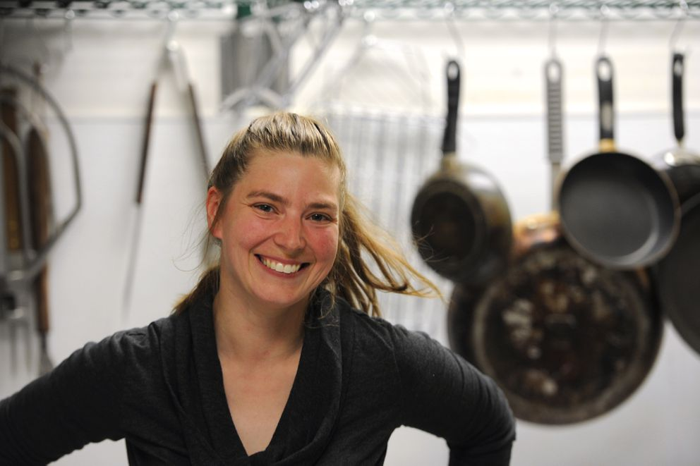 Amy Nicolaisen, owner of Wooden Spoons Alaska catering company, runs the East Anchorage Commercial Kitchen, where she rents out kitchen space to other aspiring food entrepreneurs. (Bill Roth / Alaska Dispatch News)