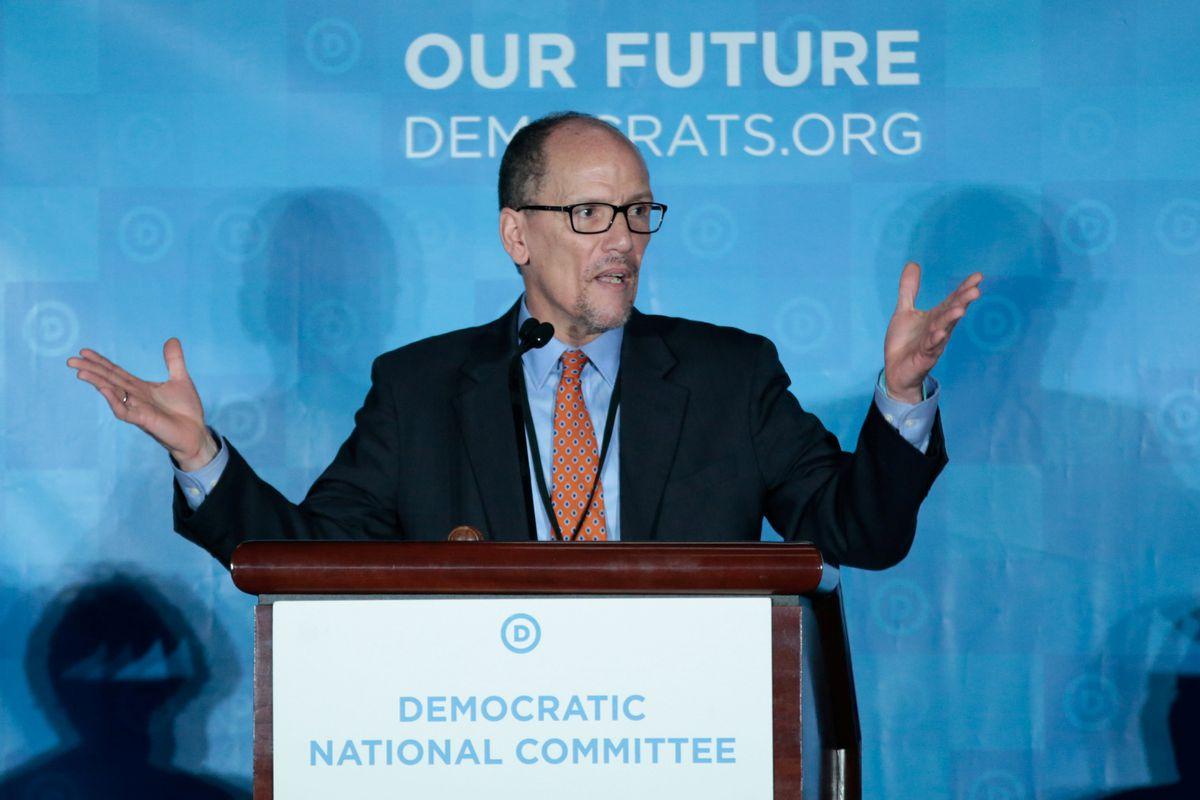 Democrats pick Perez to lead party against Trump ...