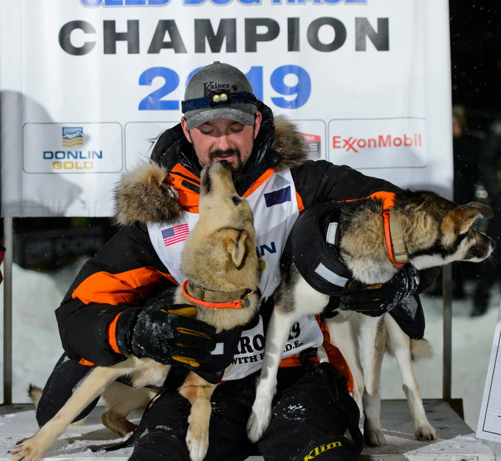 Iditarod champ Pete Kaiser tells AFN how a community lifted him up