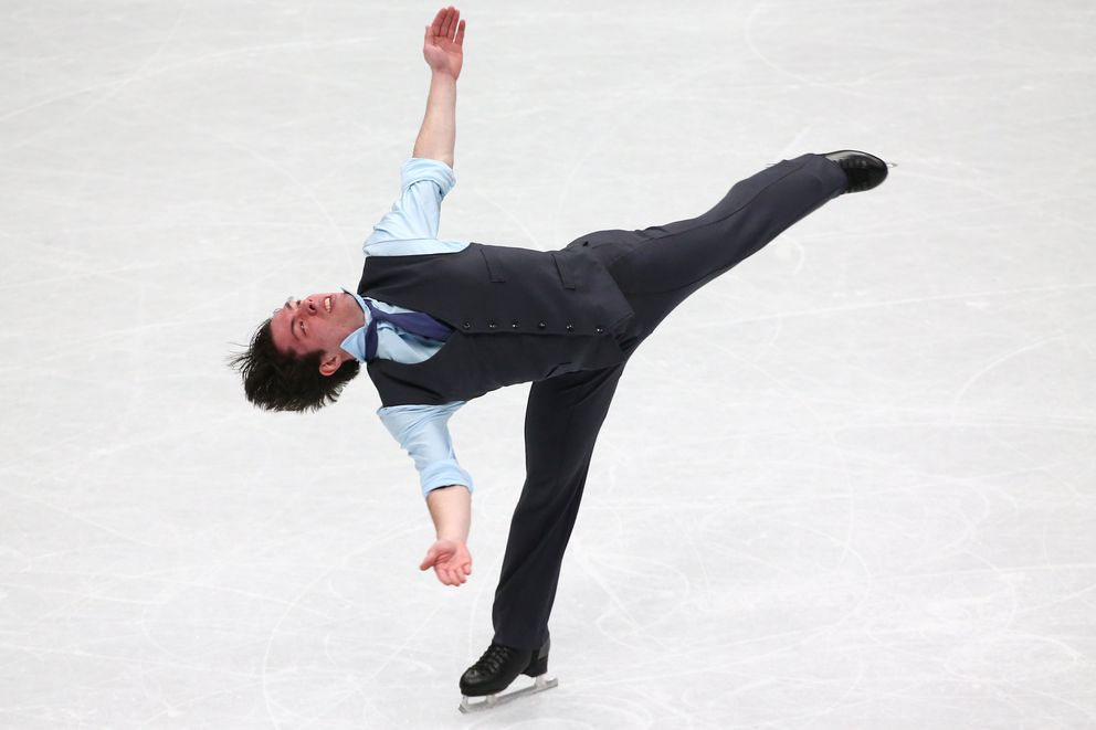 Figure Skating - World Figure Skating Championships - The Mediolanum Forum, Milan, Italy - March 22, 2018 Canada's Keegan Messing during the Men's Short Programme REUTERS/Alessandro Bianchi