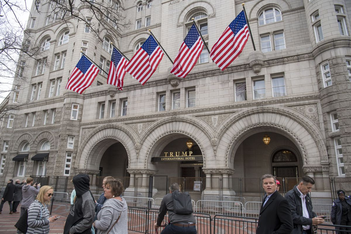 Trump International Hotel in Washington. (Bloomberg photo by David Paul Morris)