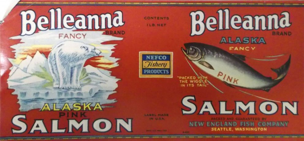 The Belleanna label used from about 1928 to 1935. (Collection of Ross Coen)