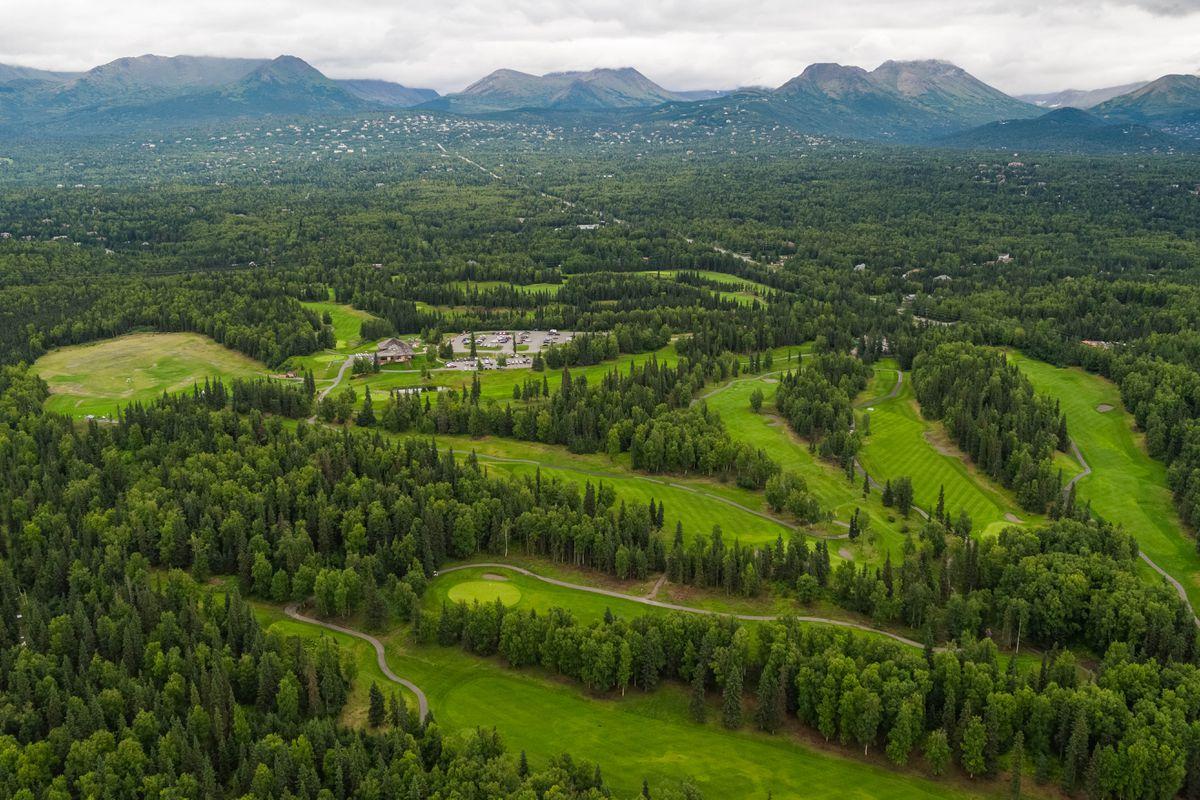 The Anchorage Golf Course on Wednesday, Aug. 8, 2018. (Loren Holmes / ADN)