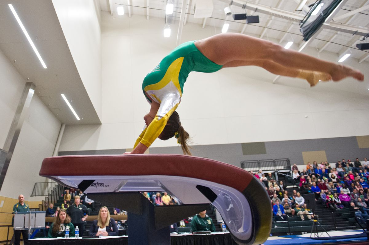 Larkin Ross Alonso Pace New Look Uaa Gymnasts In Season Opener In Virginia Anchorage Daily News