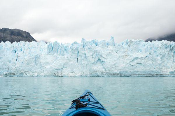 Margerie Glacier in Glacier Bay National Park, Aug. 24, 2011. (Loren Holmes / Alaska Dispatch News)