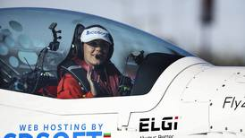 Teen attempting to be the youngest woman to fly solo around the world lands in Anchorage