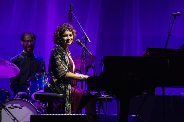 Norah Jones performs at Ohana Festival at Doheny State Beach on Friday, Sept. 28, 2018, in Dana Point, Calif. (Photo by Amy Harris/Invision/AP)
