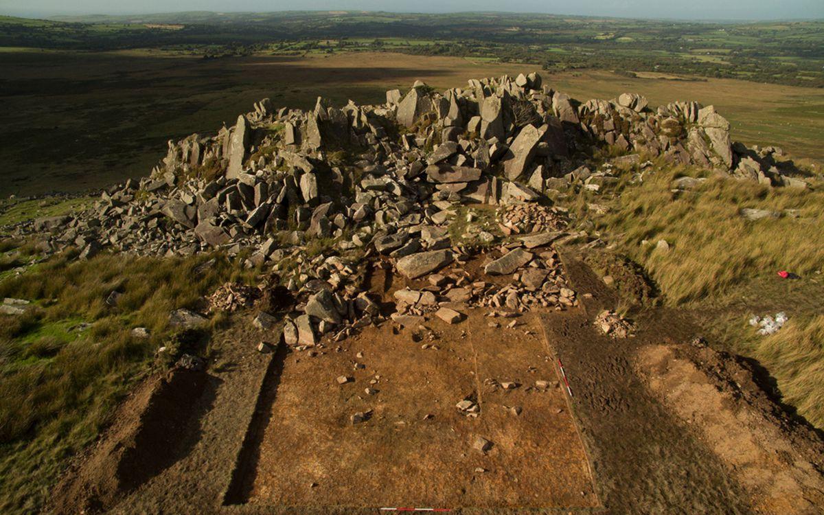 The Stonehenge quarry, Carn Goedog. Handout courtesy of University College London
