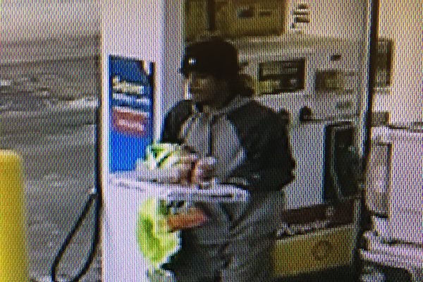 An image of the male suspect, believed to be armed. Jan. 8 2018 (Anchorage Police Department)