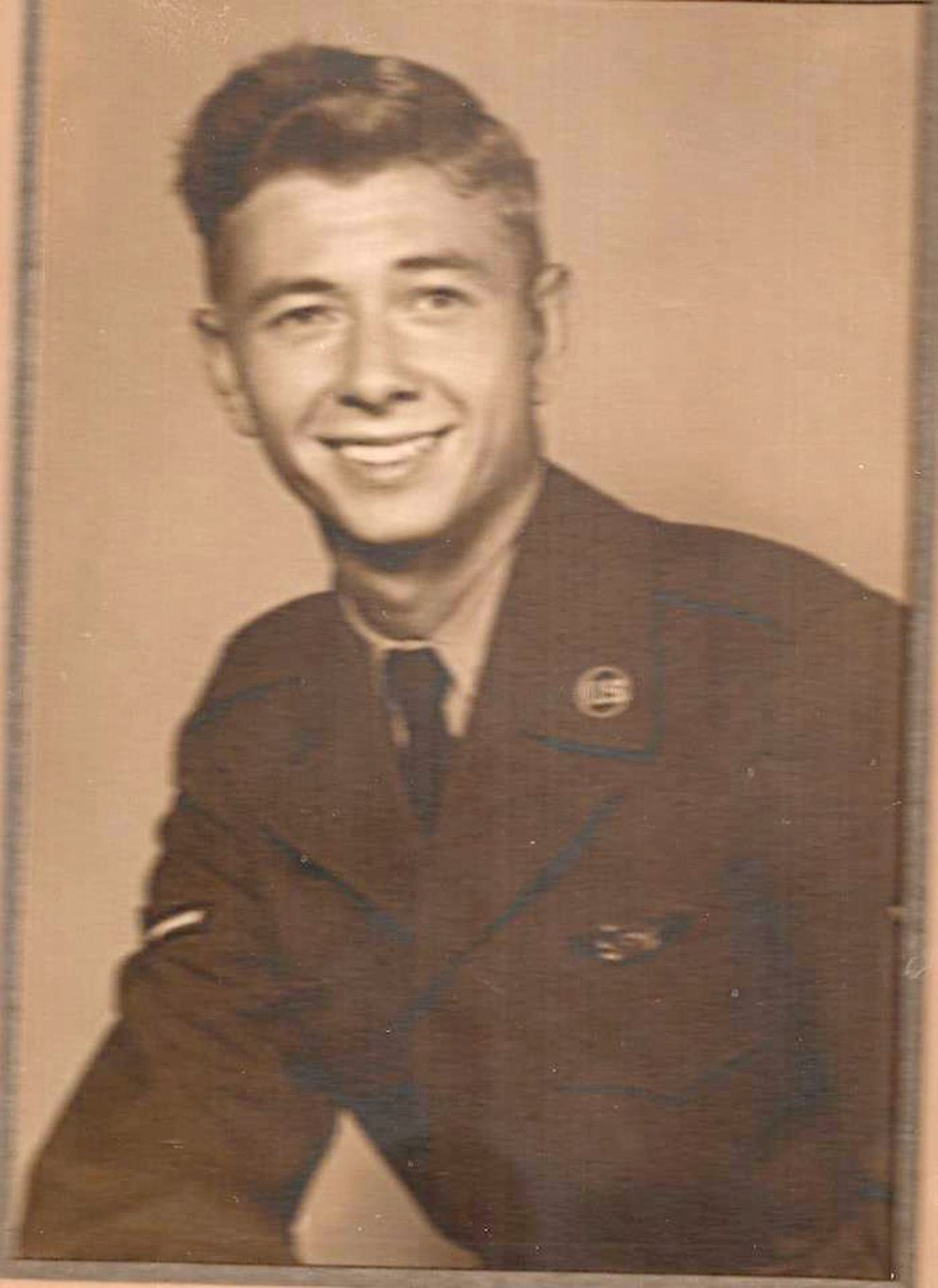 Wayne Dean Jackson, airman 3rd class in the U.S. Air Force, was 21 when he perished in the 1952 plane crash on Mount Gannett. (Courtesy Vicki Dodson)