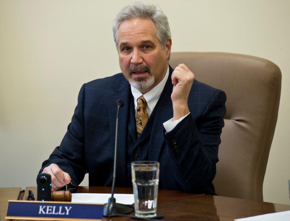 Fairbanks Republican Pete Kelly last month. (Marc Lester / Alaska Dispatch News)