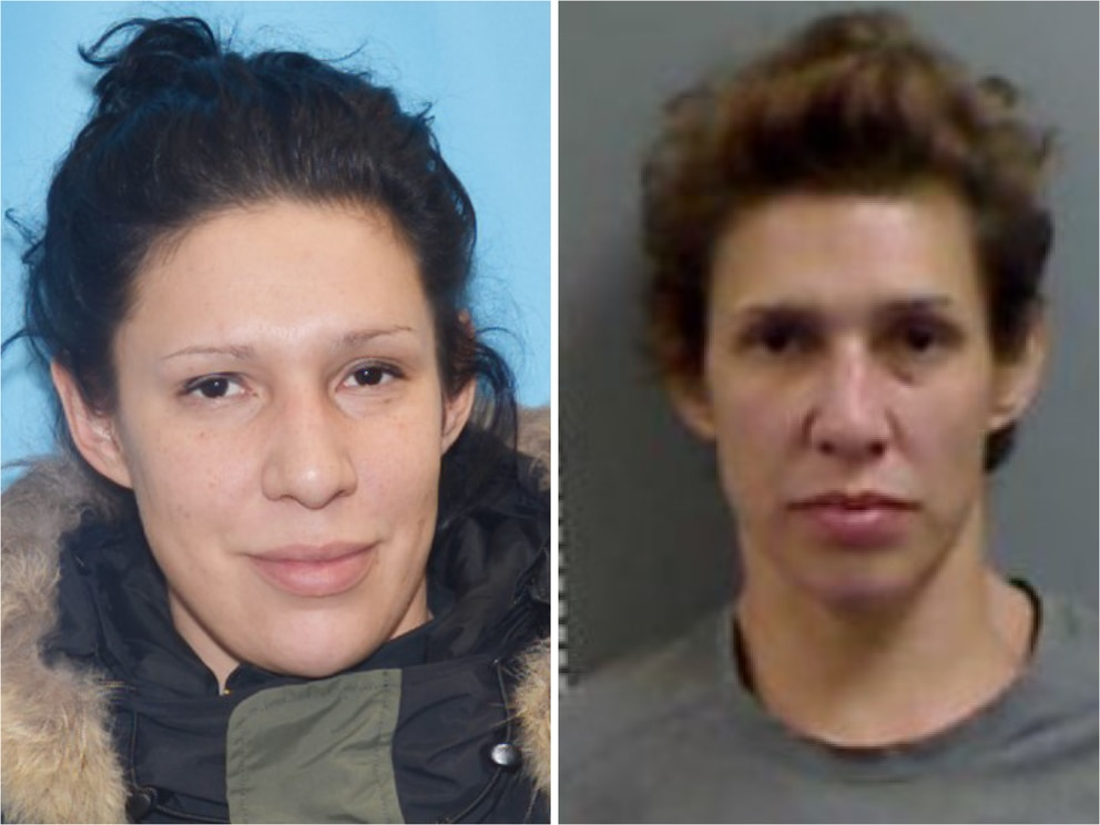 Alaska State Troopers have located Sarah Dayan, 35 of Homer, who they were seeking in connection with a homicide in the area of Turnagain Pass this week. (Photos courtesy Alaska State Troopers)