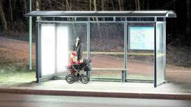 In Sweden, light therapy lamps at bus stops rile drivers