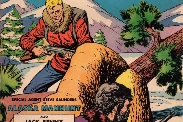 A comic book story was based around the story of FBI agents chasing and catching draft dodgers in Alaska.