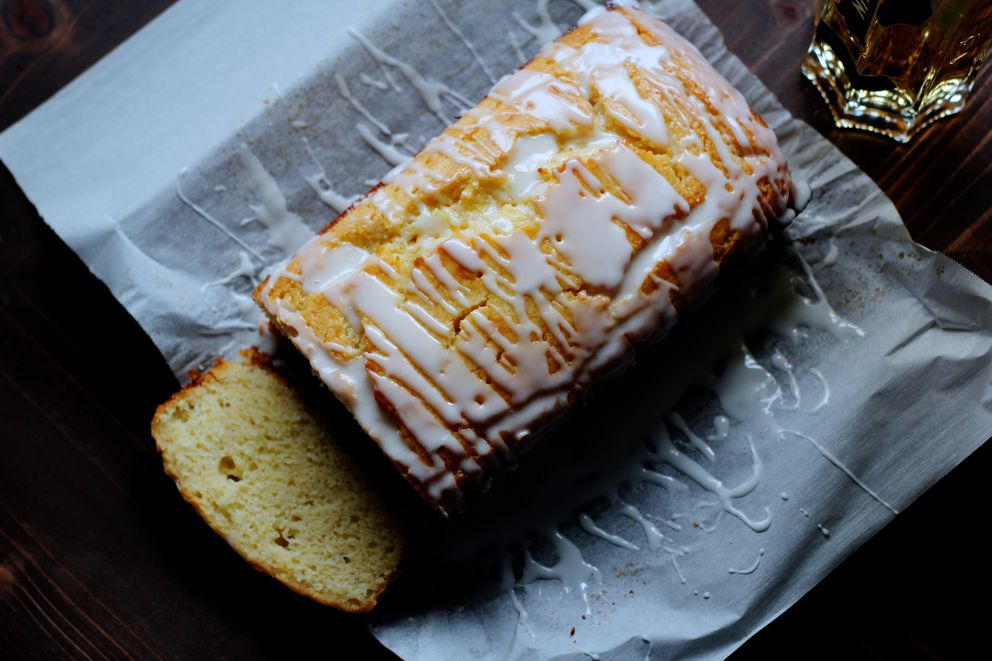 Lemon elderberry loaf has a dash of sophistication and whimsy. (Maya Wilson / Alaska from Scratch)