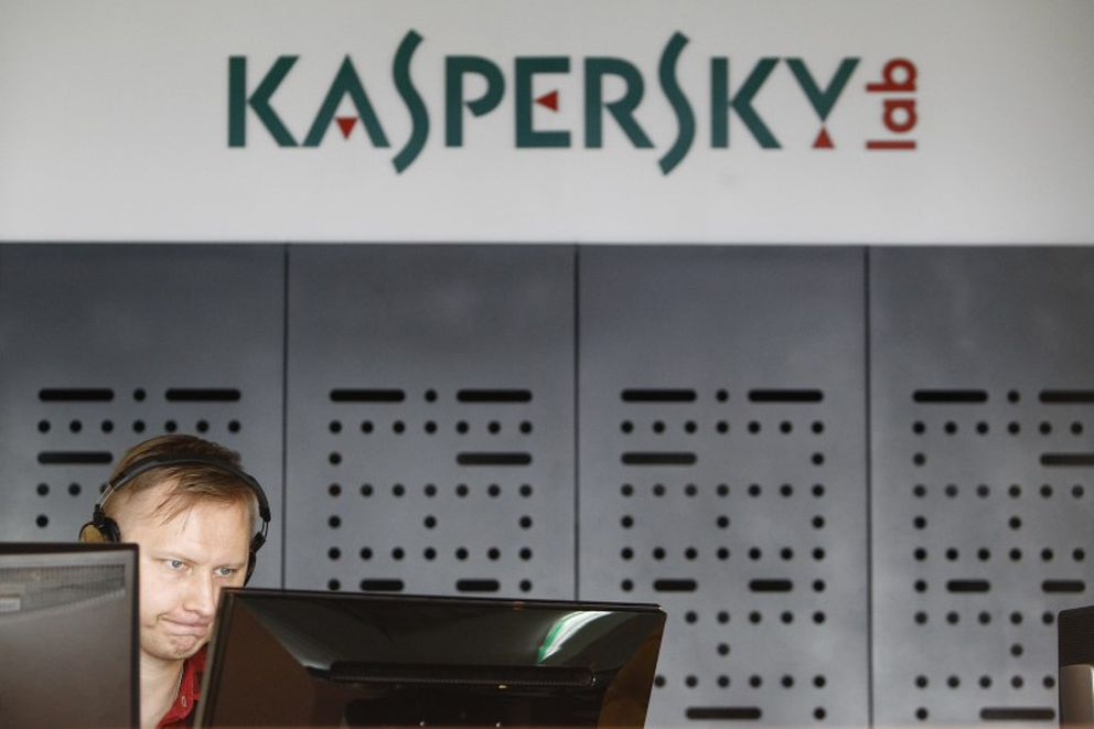 An employee works near screens in the virus lab at the headquarters of Russian cybersecurity company Kaspersky Labs in Moscow . REUTERS/Sergei Karpukhin/File