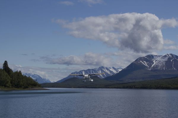OPINION: National Park Service, U.S. Fish and Wildlife Service ignore Congress, show little understanding as they to wrest control of hunting from Alaska. Pictured: A scene from Lake Clark National Park and Preserve, with Copper Mountain on the right.